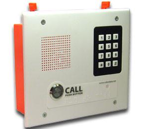 Indoor VoIP Intercom w/ Keypad White Flush Mount