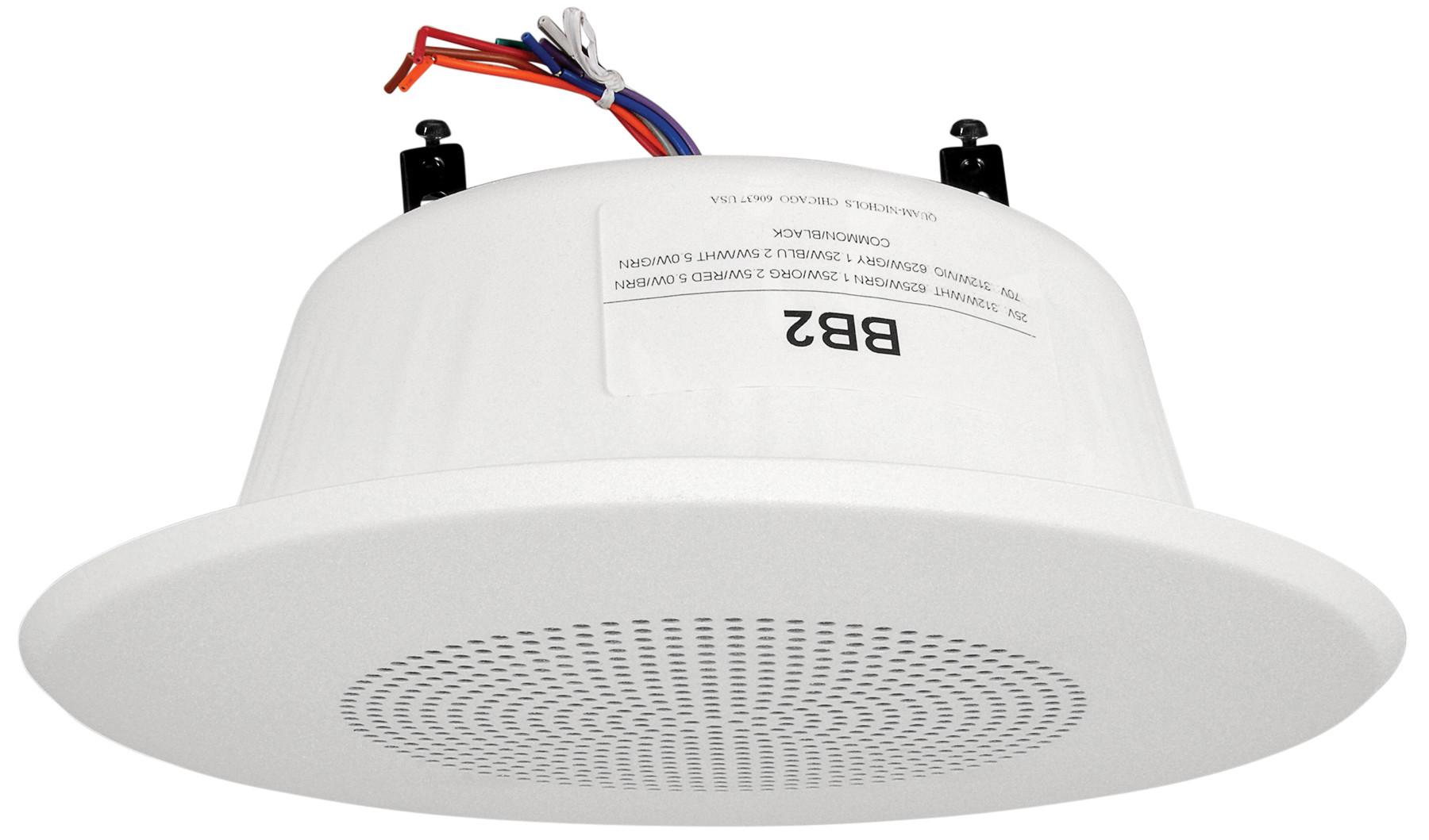 25/70.7V Quam In Wall Speaker System (White)