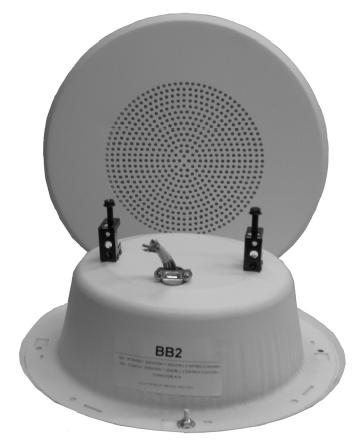 70.7V Quam In Wall Speaker System (White)