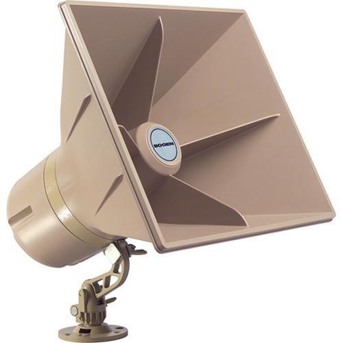 "Weatherproof 8"" Self Amplified Paging Horn, 30 Watt"