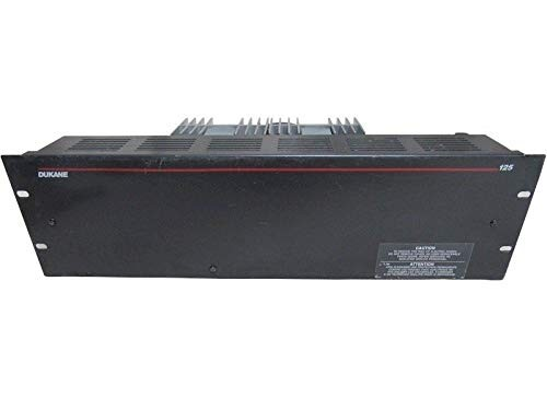 Dukane 125 Power Amplifier 1A4125Model
