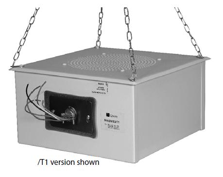 Quam 70V Sound Masking Speaker (Color Coded Leads)