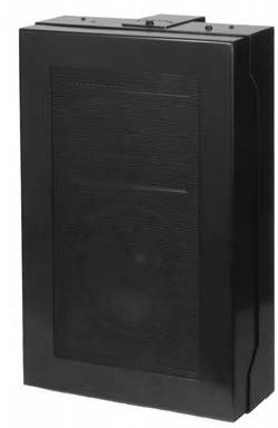 Quam Wall Mount 70V Speaker System Rotary Select (Black)