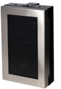 Quam 25V Wall Mount Speaker System with Stainless Frame