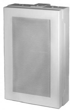 Quam 8-Ohm Speaker System (White, MicroPerf grille)