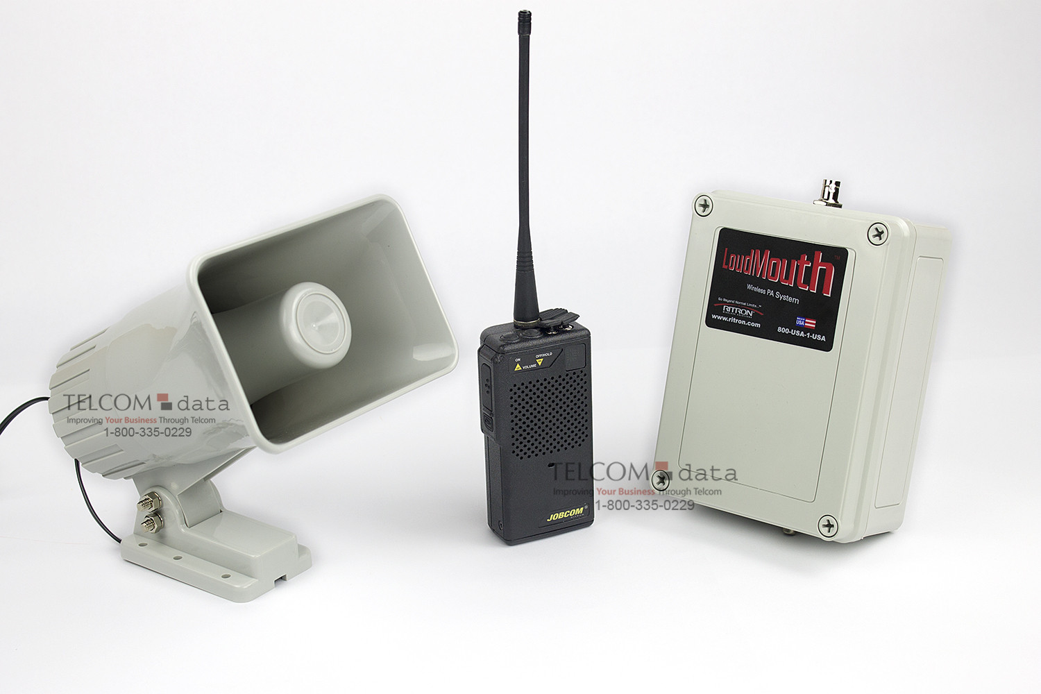 Wireless Intercom Paging System by Ritron | Bogen Paging