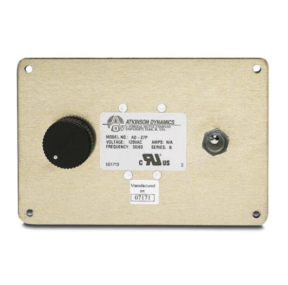 Panel Mount Industrial Intercom System 120VAC by Atkinson Dynamics