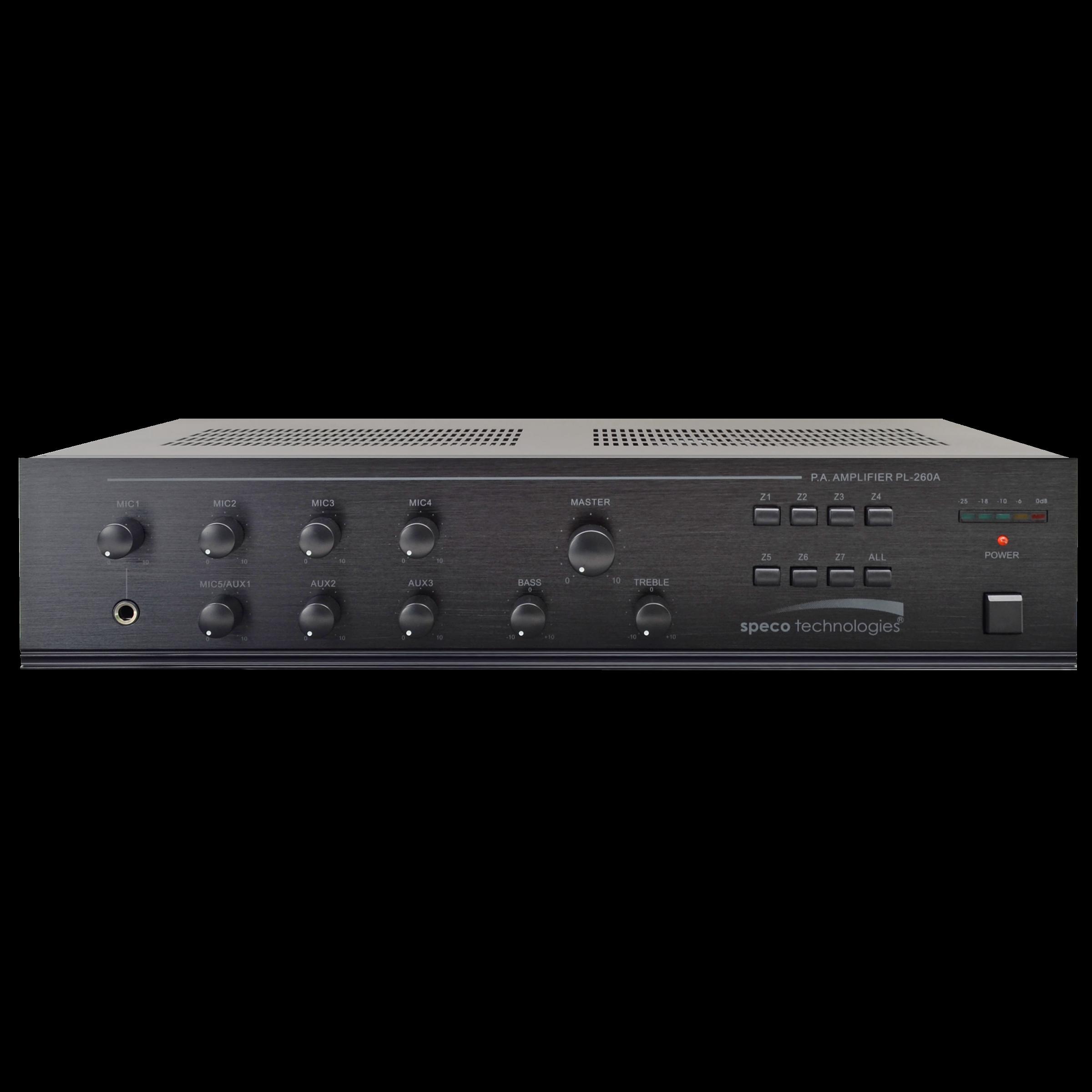 Speco Tech PL260A 260 Watt Amplifier