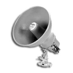 "Weatherproof 8"" Self Amplified Paging Horn, 15 Watt"