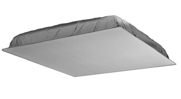 Quam 2' x 2' 70V Ceiling Tile Speaker System (Standard Perf White)