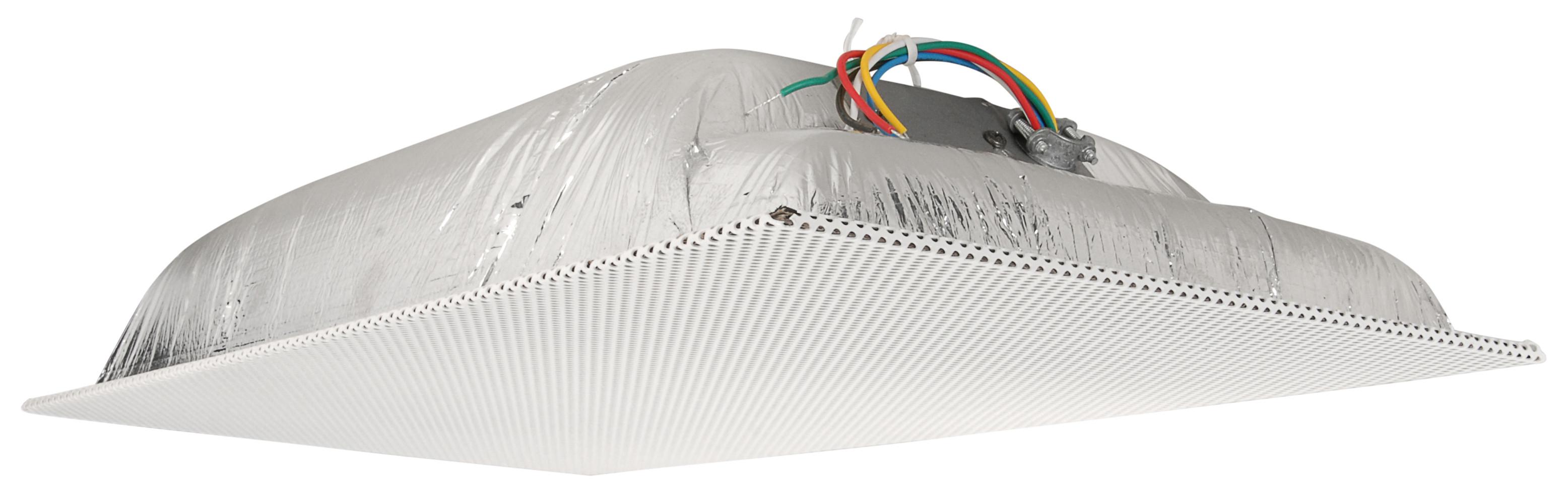 Quam Ceiling Tile Speaker 1' x 2' 70V (Standard Perf White)