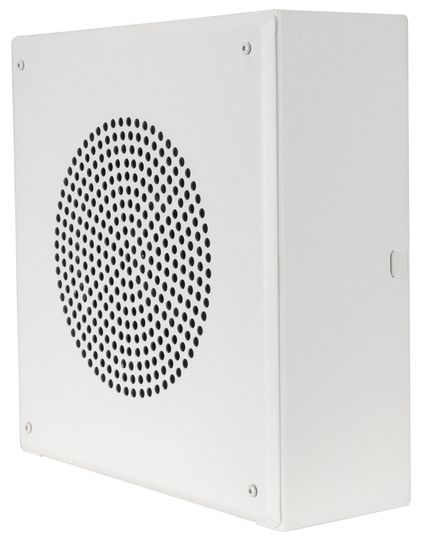 Quam 25/70V Wall Mount Speaker System (Square Vandal-resistant)