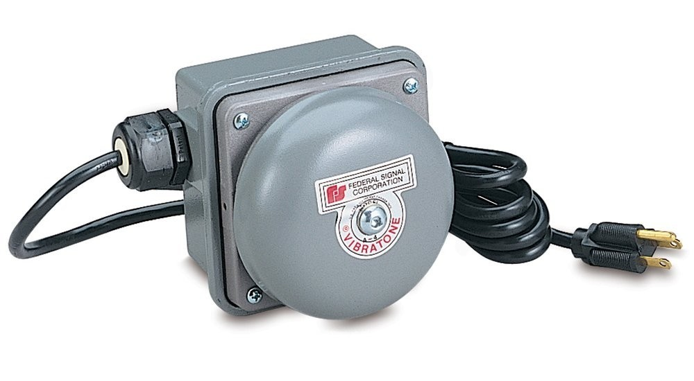 Federal Signal TelB-120 Loud Phone Bell