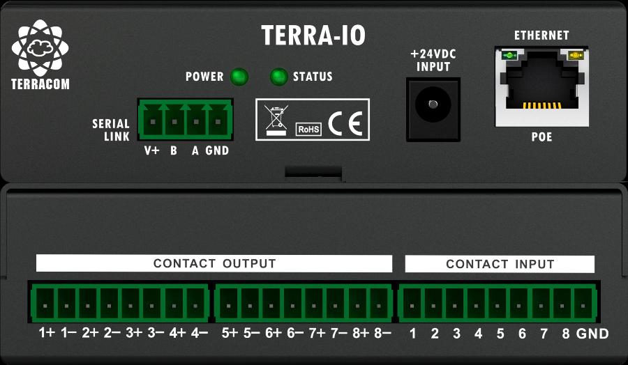 Penton Audio IP Terminal Terra-IO