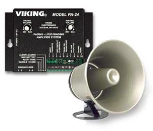 Viking PA-2A paging system