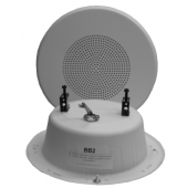 25/70.7V Quam In Wall Speaker System (White)