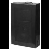 Quam Wall Mount 8-Ohm Speaker System (Black, MicroPerf grille)