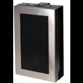 Quam Wall Mount Speaker System 70V with Stainless Frame