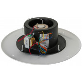 Quam 25/70V Paging Horn Speaker on Round Vandal Resistant Baffle