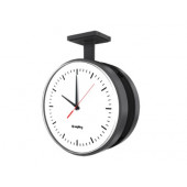 "12"" Wireless Talkback Round Clock (Black Case)"