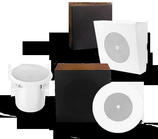 Ceiling Speakers for 70V Paging Systems   Bogen